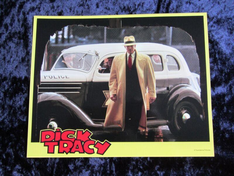 DICK TRACY lobby card # 6 WARREN BEATTY mini lobby card