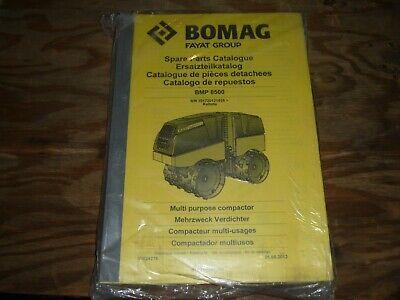 BOMAG BW142 PD//PDB BW 172 PD//PDB Spare PARTS CATALOG  MANUAL