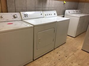 Recondition: Washer $250 and Dryer $200