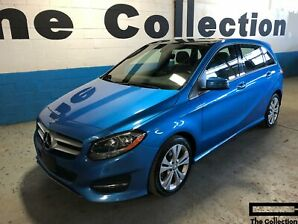 2015 Mercedes Benz B-Class B250 4-MATIC Sports Tourer w/Prem Pkg /Roof /Navi