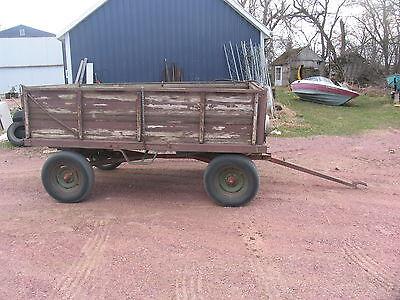 Barge Box Wagon With Hydraulic Lift