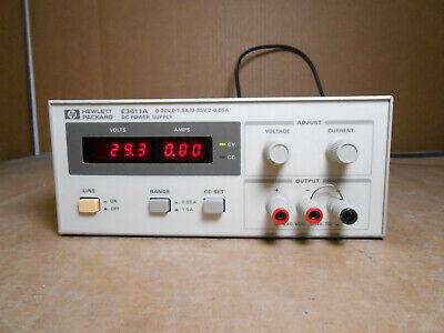 Hp E3611a Dc Power Supply 0-20v 0-1.5a0-35v0-0.85a