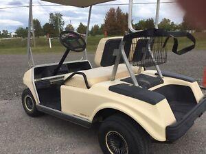 Club car golf cart for sale --gas.