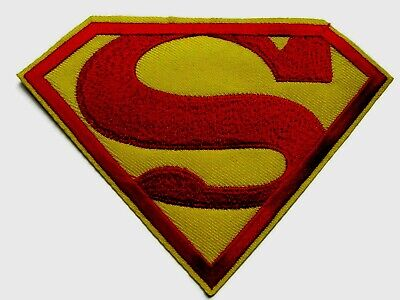 Superman patch Comics Super Hero S Iron On Embroidered Applique costume (346)
