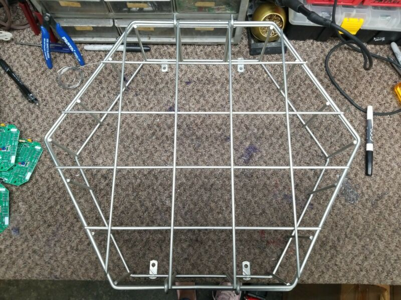 "16"" STEEL WIRE GUARD FOR CLOCK"