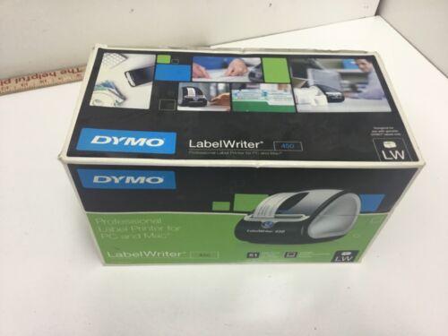 DYMO LabelWriter 450  Thermal Label Printer Inkless Barcode Shipping PC Mac
