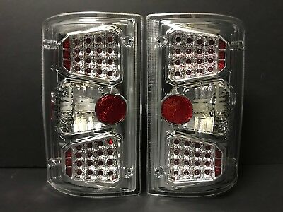 2006 Ford Van Excursion Tail (FOR FORD EXCURSION 2000-2006/ECONOLINE VAN 1995-2012 LED LOOK TAIL LIGHTS)