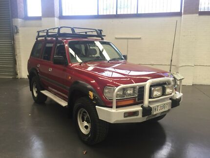 1995 Toyota Landcruiser 80 Series (LOTS OF OPTIONS) Brunswick Moreland Area Preview