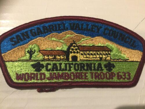 San Gabriel Valley Council CSP World Jamboree Troop 633 SALE!!