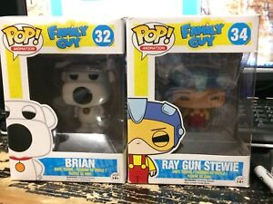 Funko Pop Brian and Stewie Family Guy