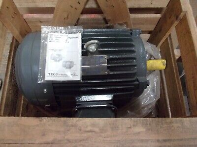 Teco Westinghouse Np0104 Type Aehh8p Electric Motor 10hp 230460v