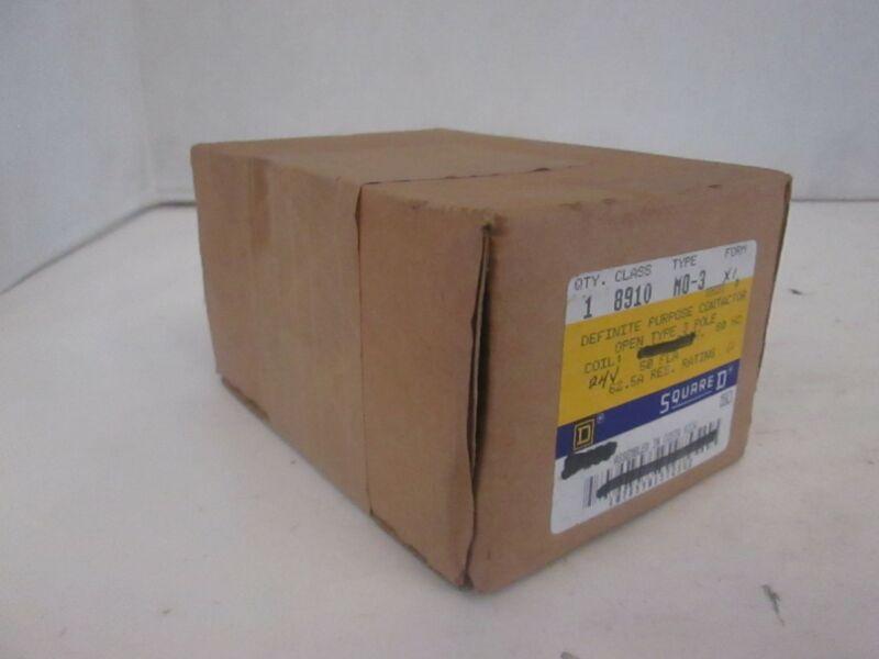 Square D, Definite Purpose Contactor, Class 8910, M0-3, New In Box