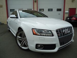2010 Audi S5 6-Speed Manual, 4.2L V8, Rare Interior Red Leather