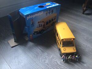 Play mobile school bus
