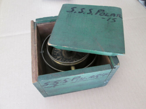 Antique Maritime Compass