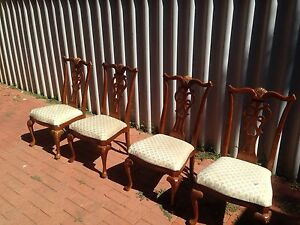4 classic dining chairs for restoration Swan View Swan Area Preview