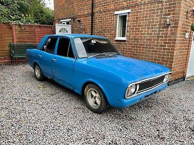 FORD CORTINA 1600E MK2 1969 3.0 V6 MANUAL COULD BE SAVAGE NO RESERVE