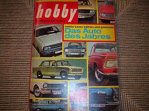 HOBBY-DAS-MAGAZIN-RIVISTA-TECNICA-N-26-1966-OTTO-HAHN-SHIFF-BERLIET-VICTORIA