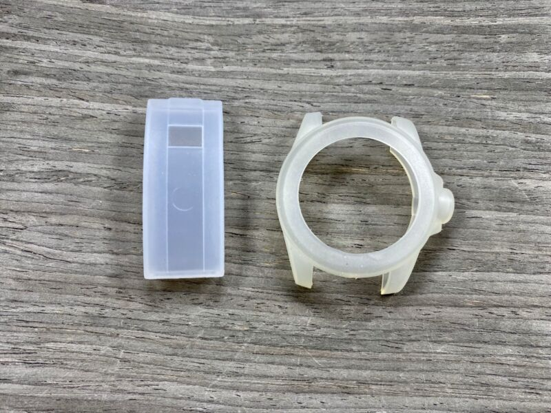 Rolex Plastic / Rubber Case, Bezel & Buckle Protector Fits 40mm Sub Gmt Yacht
