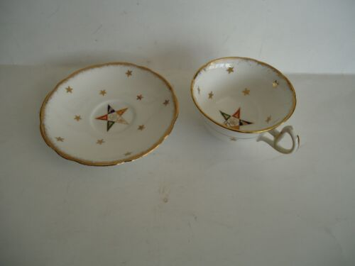Vintage Royal Stafford OES Order of the Eastern Star Tea Cup And Saucer