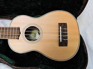 NEW - Tiki TSS-6P-NST Soprano Uke, & Pick up with Deluxe Case Burwood Whitehorse Area Preview