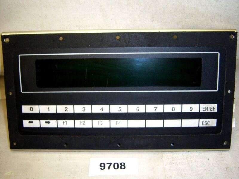 (9708) IEE Display Unit 03901-A3-A-01-07 Operator Interface