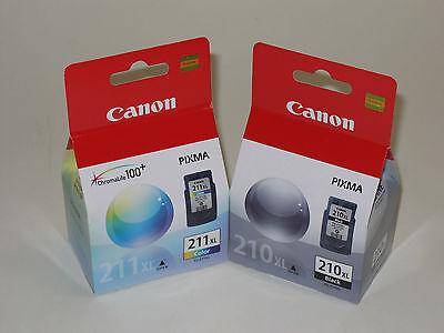 Canon Pg-210 Xl Cl-211 Xl Ink Mx340 Mx350 Mx330 Mx410 Mx4...