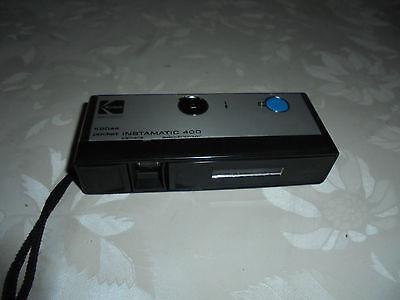 Kodak Instamatic 400 electronic Pocket Kamera mit Tasche