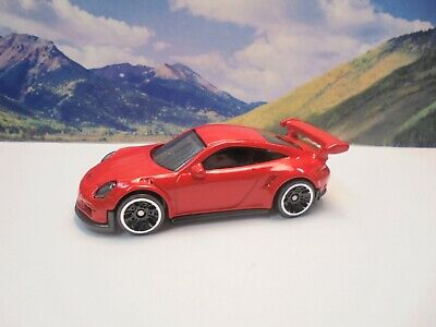 PORSCHE 911 GT3 RS   2016 Hot Wheels Exotics Series   Red