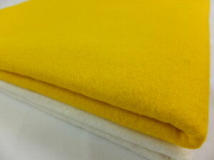 Quality 40% wool blend felt 1mm thick - sold in sheets
