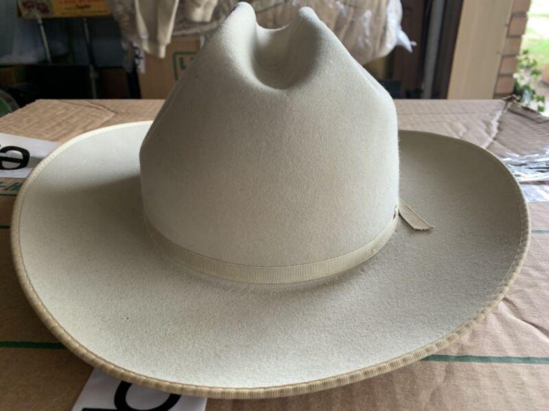 Vintage Stetson 3X Open Road Western Cowboy Hat Size 7