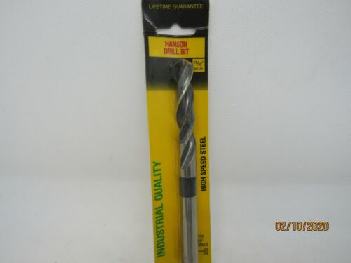 """17/32"""" HANSON HIGH SPEED DRILL BIT #90134  (MADE IN THE USA)"""