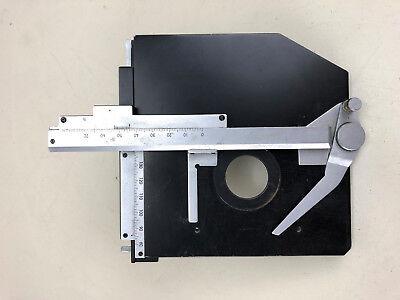 Microscope X-y Stage Poss. Olympus
