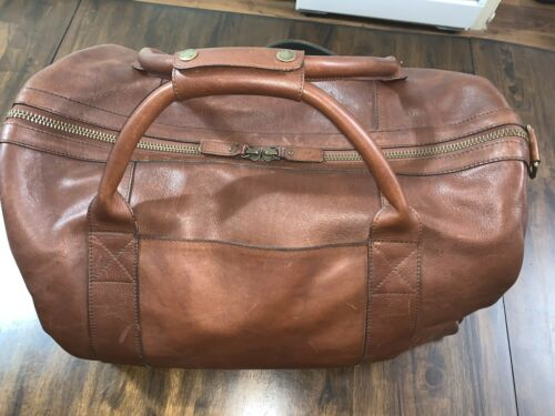 Tecovas Duffle Bag With Shoulder Strap-Medium- Leather-Carry On-New Condition - $250.00
