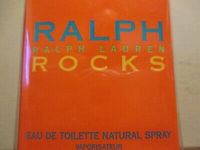 RALPH LAUREN ROCKS EAU DE TOILETTE PERFUME FOR WOMEN SPRAY 1.7 OZ NEW SEALED.