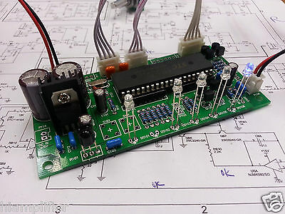 4 Ways Stereo Remote Volume Control Preamp Kit with ALPS Potentiometer Assembled