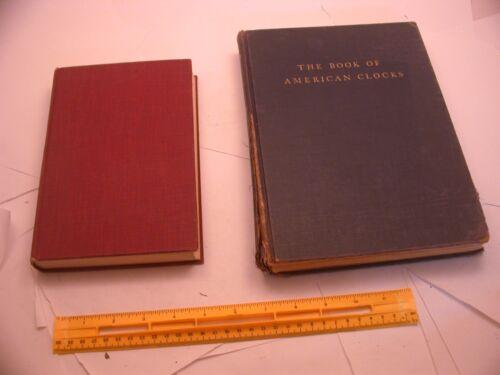 Book 202 – Lot of 2 clock books