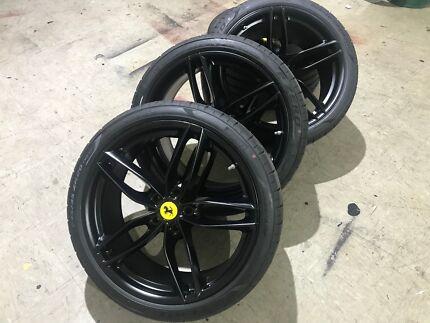 Wheels Powder Coating Service