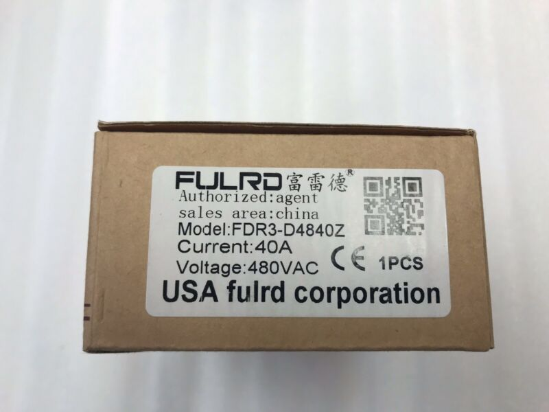 Fulrd FDR3-D4840Z 3 Phase Solid State Relay