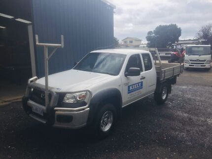2009 Mazda BT - 50 White Extended Cab Ulverstone Central Coast Preview