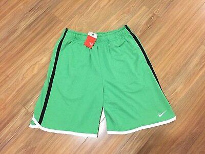 Nike Vintage Hermitage Old School Men's Basketball Shorts Green 386530 331 M NWT