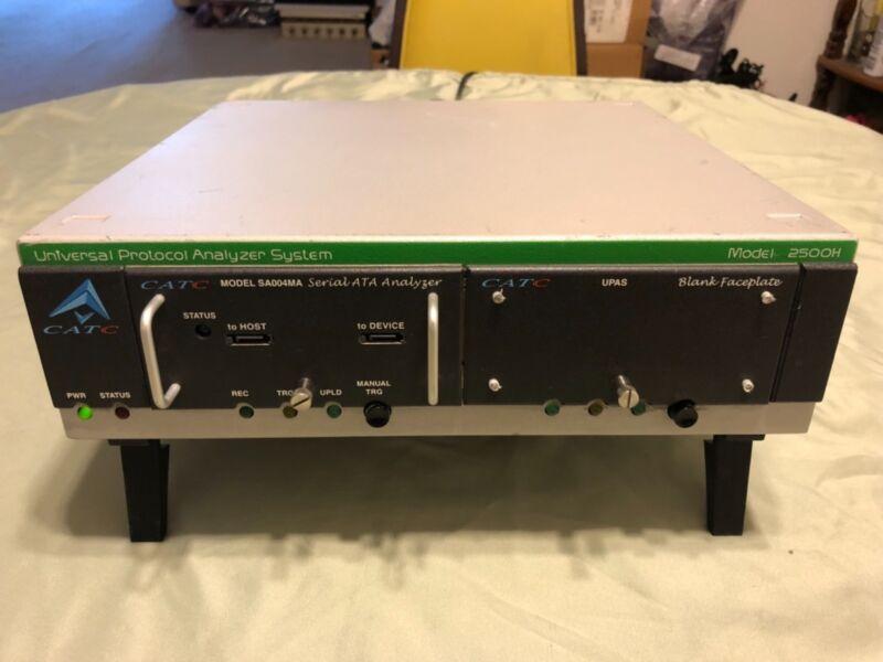 CATC 2500H Universal Protocol Analyzer System with SA004MA Serial ATA Analyger.
