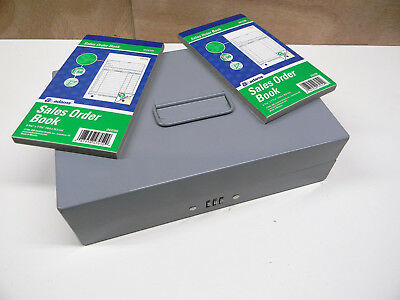 Cash Box Money Sorter With Sales Order Books