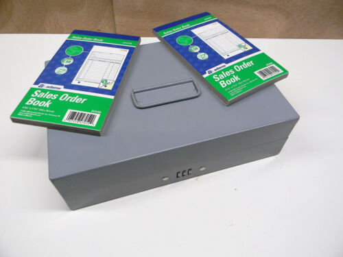 Cash Box Money Sorter with Sales Order Books