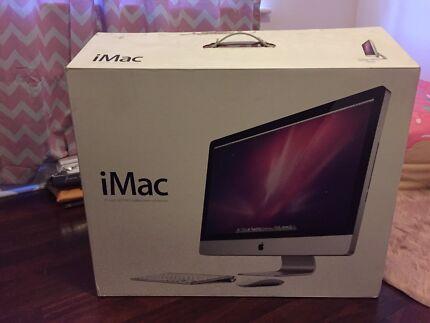 "iMac 27"" LED 16:9 widescreen computer"