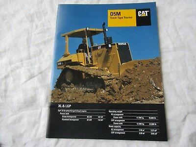 Caterpillar D5M Crawler Dozer Dealer/'s Brochure DCPA4 ver