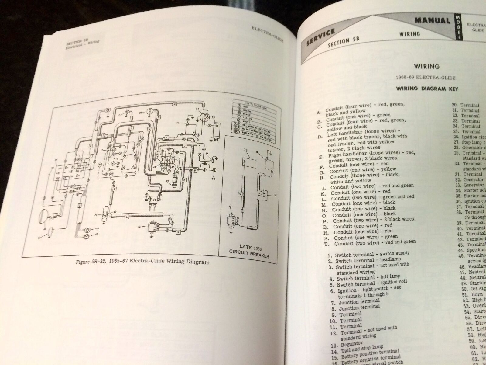 harley fl flh service manual 1959 to 1969 panhead shovelhead electra rh picclick com