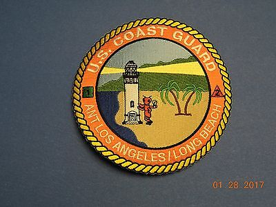 US Coast Guard ANT Los Angeles Long Beach Aid Navigation USCG Military Patch Q10