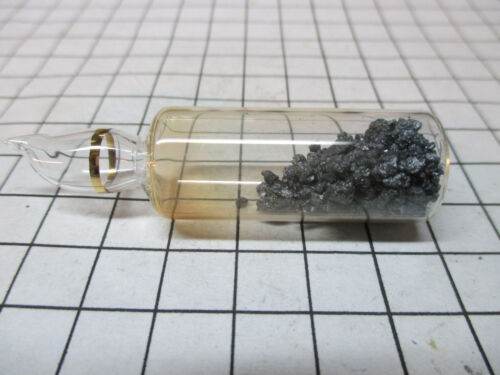 Iodine Element Sample - 5g Crystals In Sealed Ampoule 99.9% Pure Periodic Table