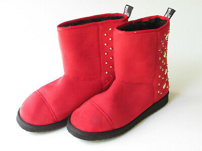Love Moschino Heart Studded Ankle Boot Size 40